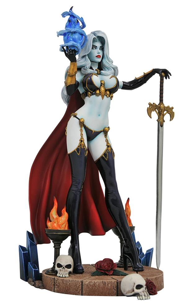 DC GALLERY - FEMME FATALES LADY DEATH FIGURE DIORAMA