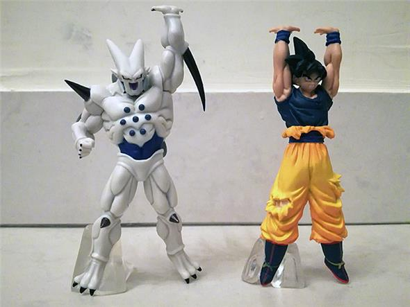 DRAGON BALL BATTLE FIGURE SERIES 08 (5 PEZZI)