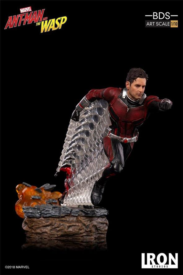 1/10 IRON STUDIOS - ANT MAN & WASP ANT MAN BDS ART STATUE