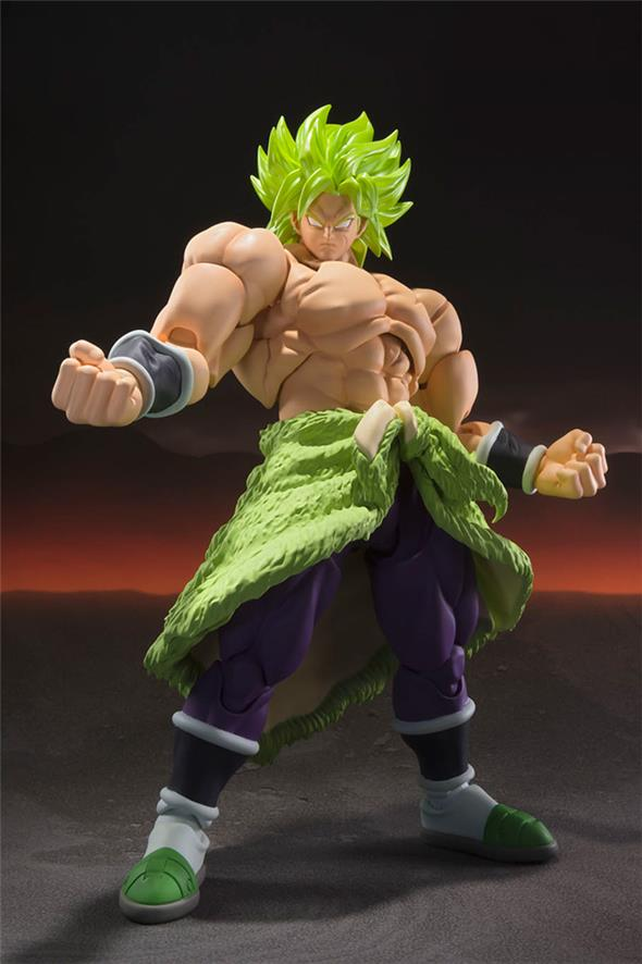 S.H. FIGUARTS - DRAGON BALL SUPER SS BROLY FULLPOWER