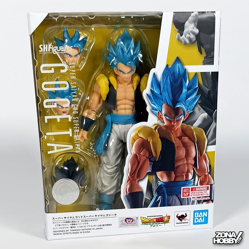 S.H. FIGUARTS - DRAGON BALL SUPER SS GOD SS GOGETA