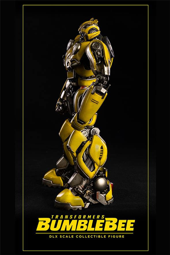 TRANSFORMES BUMBLEBEE DLX COLLECTIBLE FIGURE