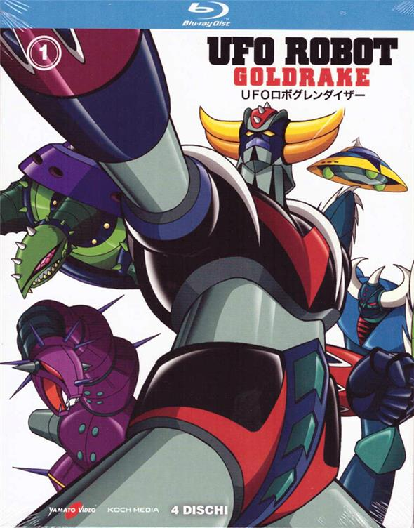 BLU-RAY - UFO ROBOT GOLDRAKE BOX VOL. 1 (DI3)
