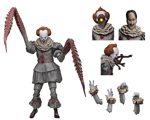 NECA - IT ULTIMATE DANCING CLOWN PENNYWISE