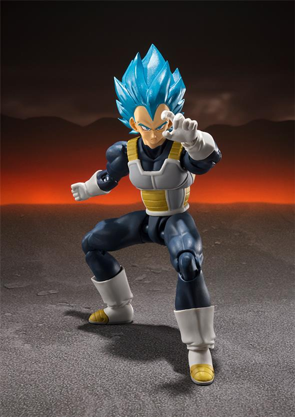 S.H. FIGUARTS - DRAGON BALL SUPER SAIYAN GOD SS VEGETA