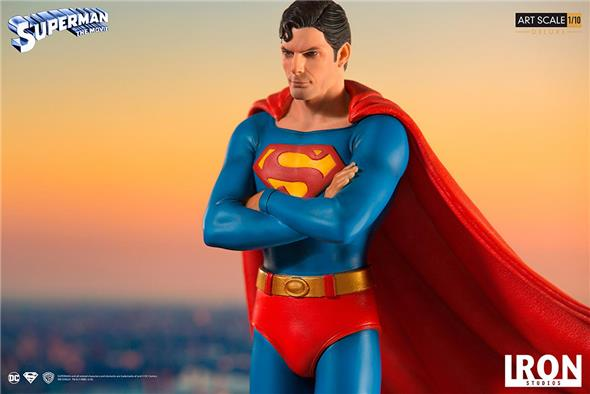1/10 IRON STUDIOS - SUPERMAN THE MOVIE 1978 DLX ART STATUE