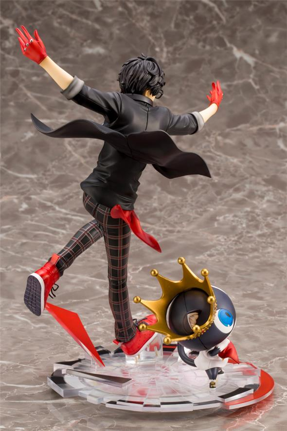 PERSONA 5 DANCING STAR HERO & MORGANA ARTFX J