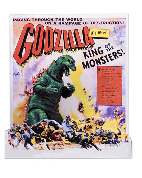 NECA - GODZILLA 12INCH 1956 MOVIE POSTER