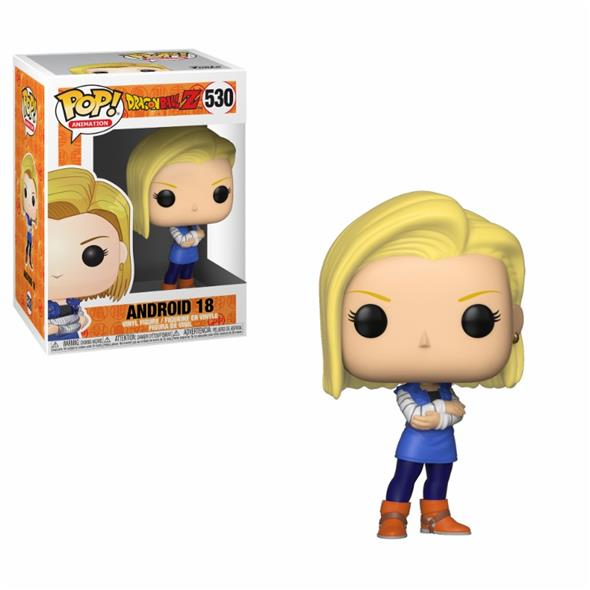 POP ANIMATION - DRAGON BALL Z S5 ANDROID 18 530