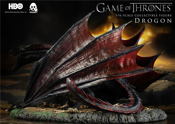 1/6 THREEZERO - GAME OF THRONE DROGON FIGURE
