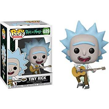POP ANIMATION - RICK & MORTY TINY RICK WITH GUITAR 489