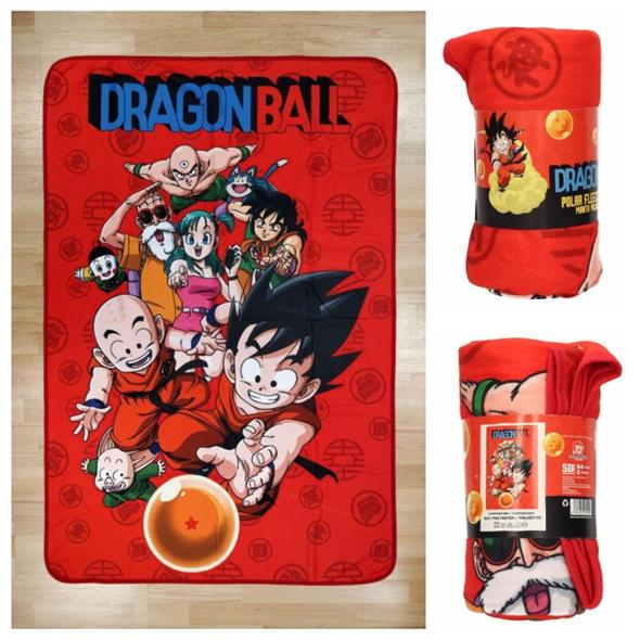 DRAGON BALL - CHARACTERS POLAR BLANKET (COPERTA)