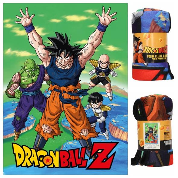 DRAGON BALL Z - NAMEK POLAR BLANKET (COPERTA)