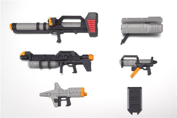 ROBOT SPIRITS - EARTH FEDER FORCE WEAPONS ANIME SET