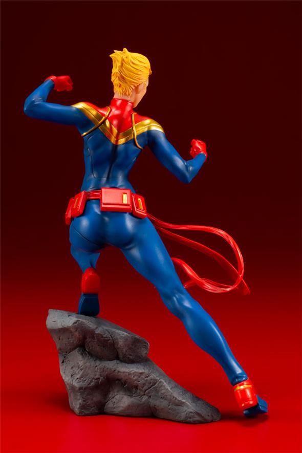 AVENGERS SERIES CAPTAIN MARVEL ARTFX+ STATUE