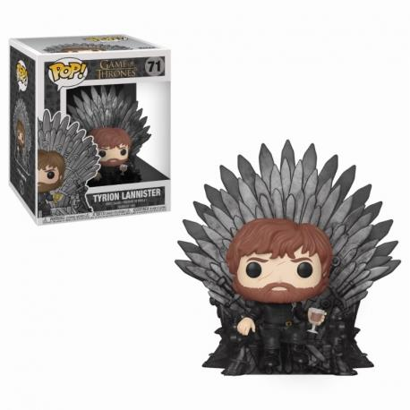 POP DELUXE - GAME OF THRONES S10 TYRION SITTING ON THRONE 71