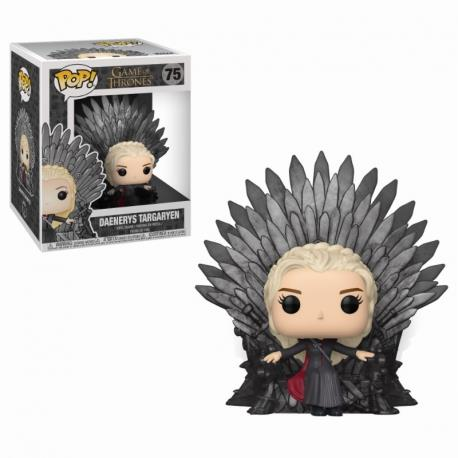 POP DELUXE - GAME OF THRONES S10 DAENERYS SITTING ON THRONE 75