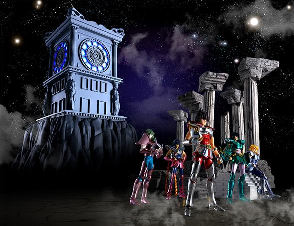 SAINT SEIYA - FIRE CLOCK IN SANCTUARY