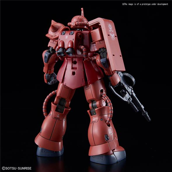 1/144 HG ZAKU II MS-06S RED COMET VER