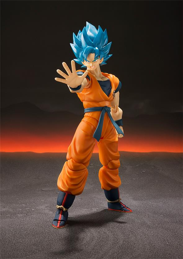 S.H. FIGUARTS - DRAGON BALL SUPER SAIYAN GOD SS GOKU