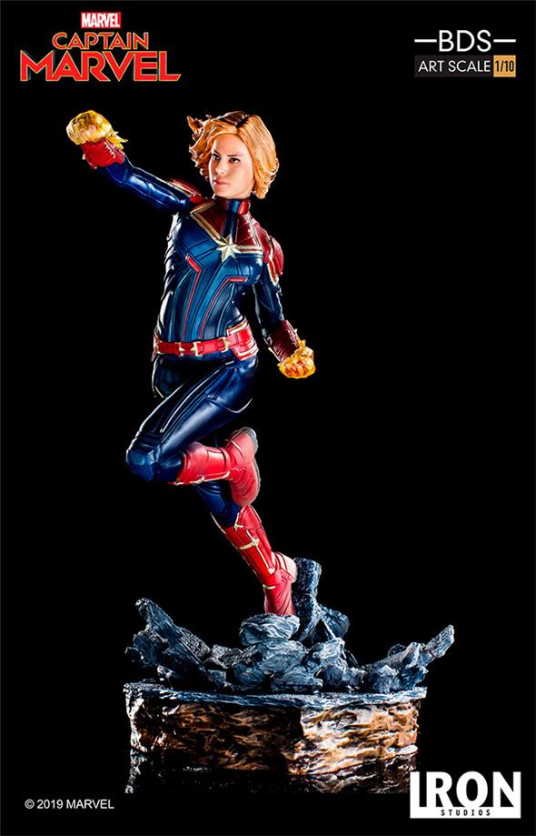 1/10 IRON STUDIOS - CAPTAIN MARVEL BDS ART STATUE