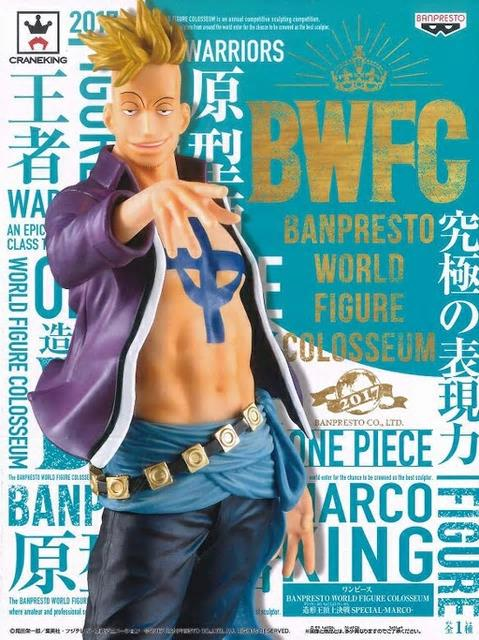 ONE PIECE BANPRESTO WORLD FIGURE COLOSSEUM SPECIAL - MARCO
