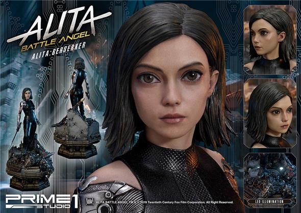 BATTLE ANGEL ALITA BERSERKER STATUE