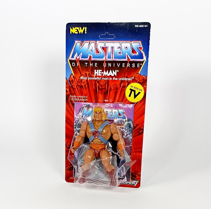 MASTERS OF THE UNIVERSE VINTAGE WAVE 1 - HE-MAN