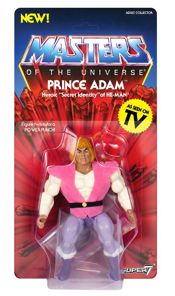MASTERS OF THE UNIVERSE VINTAGE WAVE 3 - PRINCE ADAM