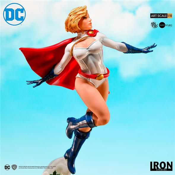 1/10 IRON STUDIOS - POWER GIRL BY IVAN REIS ART SC STATUE