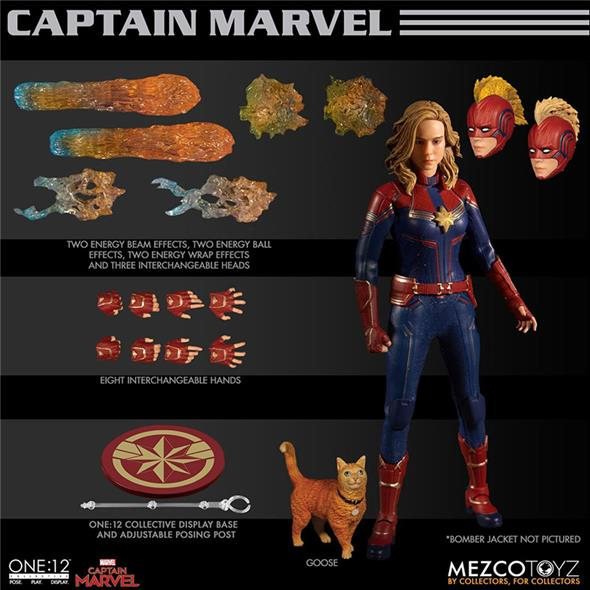 ONE12 COLLECTIVE - CAPTAIN MARVEL CLOTH