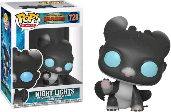 POP MOVIES - HOW TO TRAIN YOUR DRAGON 3 NIGHT LIGHTS 3 728