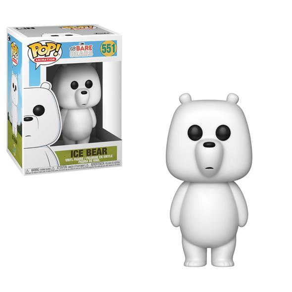 POP ANIMATION - WE BARE BEARS ICE BEAR 551
