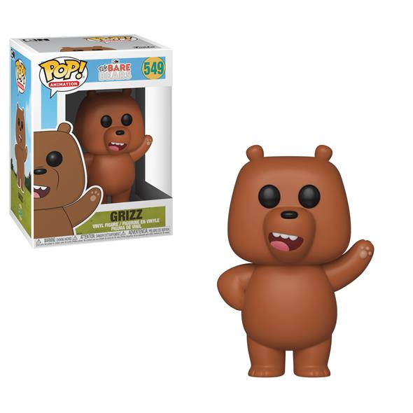 POP ANIMATION - WE BARE BEARS GRIZZ 549