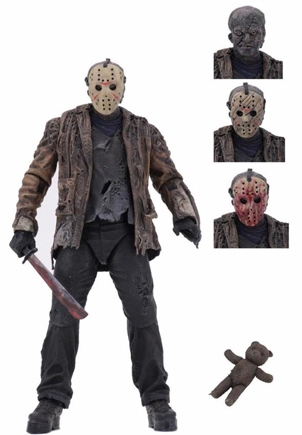 NECA - FREDDY VS JASON ULTMATE JASON VOORHEES
