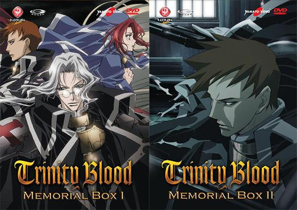 DVD - TRINITY BLOOD MEMORIAL BOX 01 E 02 (6 DVD)