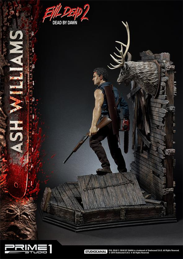 1/3 EVIL DEAD 2 - ASH WILLIAMS STATUE