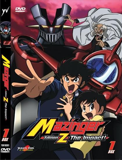 DVD - MAZINGER EDITION Z: THE IMPACT! BOX 1-2-3 (6DVD)