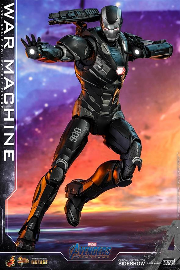 1/6 HOT TOYS - AVENGERS ENDGAME - WAR MACHINE