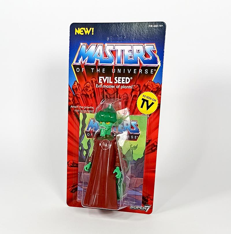 MASTERS OF THE UNIVERSE VINTAGE WAVE 4 - EVIL SEED