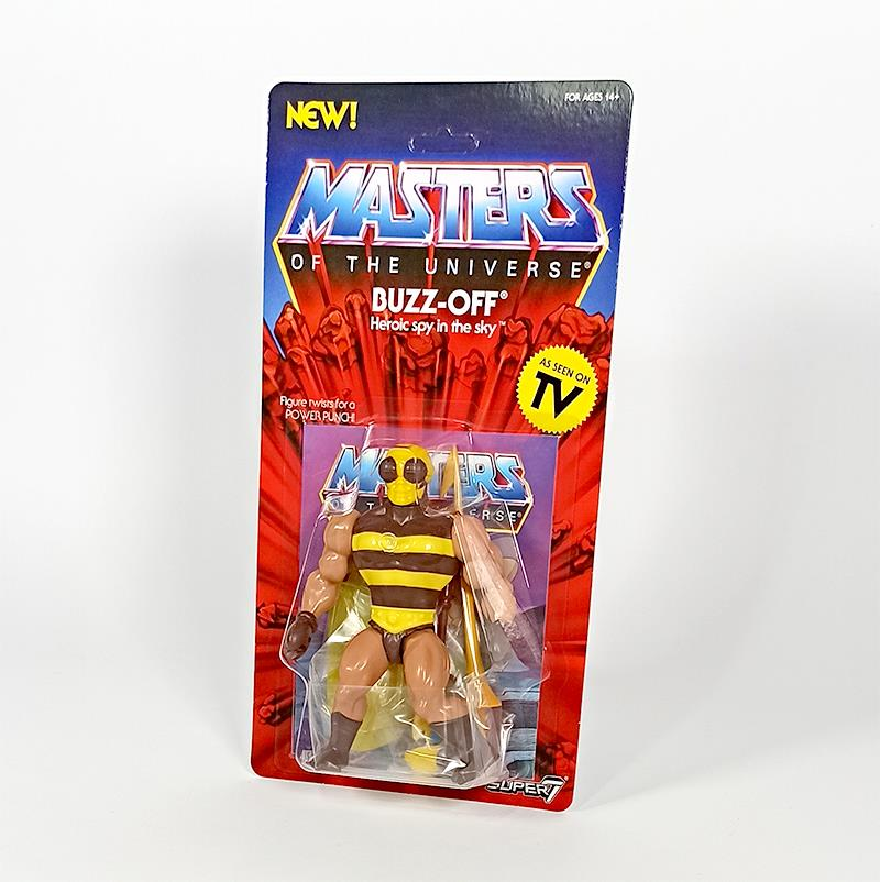 MASTERS OF THE UNIVERSE VINTAGE WAVE 4 - BUZZ OFF