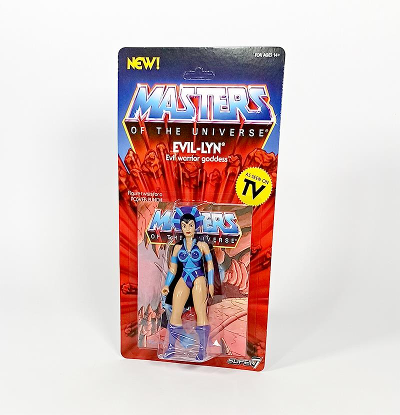 MASTERS OF THE UNIVERSE VINTAGE WAVE 4 - EVIL-LYN