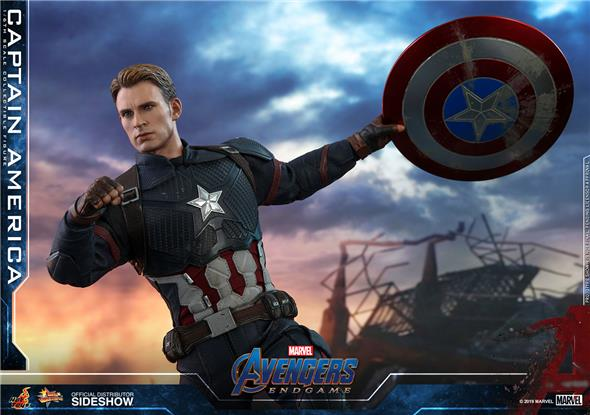 1/6 HOT TOYS - AVENGERS ENDGAME - CAPTAIN AMERICA