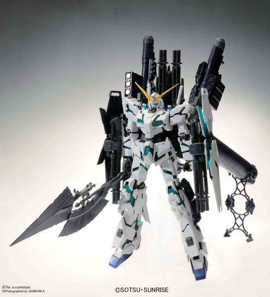 1/100 MG GUNDAM UNICORN RX-0 FULL AR V.KA