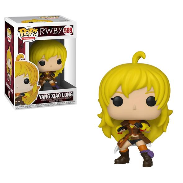 POP ANIMATION - RWBY YANG XIAO LONG 589