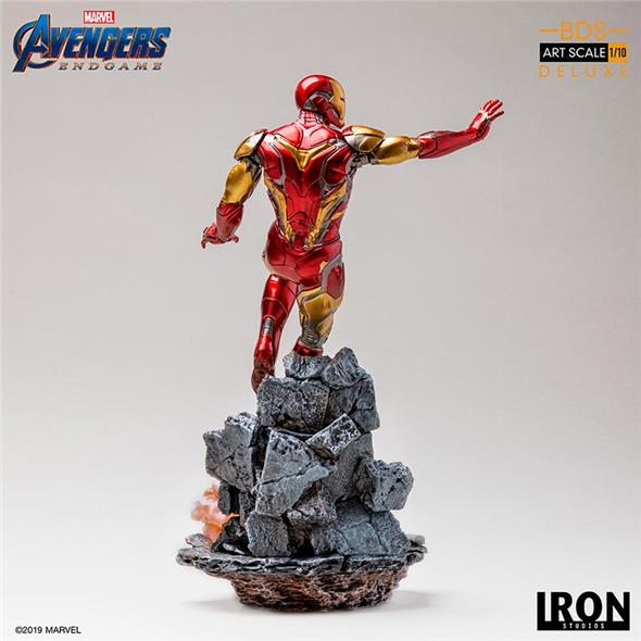 1/10 IRON STUDIOS - AVENGERS ENDGAME IRON MAN MARK85 ART STATUE DLX