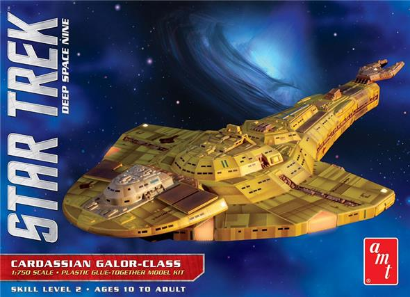 STAR TREK CARDASSIAN GALOR CLASS SHIP MK