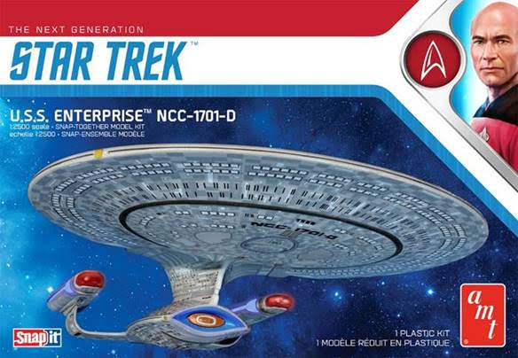 STAR TREK USS ENTERPRISE D (SNAP) MK