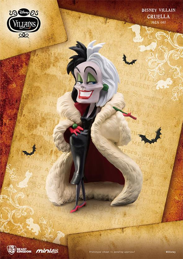 MINI DISNEY VILLAIN - CRUELLA