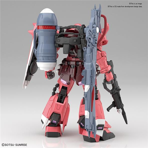 1/100 MG ZAKU GUNN WARRIOR LUNAMARIA